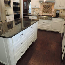 Traditional Kitchen by River City Flooring