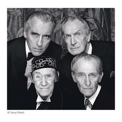 "The Four Kings of Horror 1982, 72"" X 72"" - Silver Gelatin on Museum Quality Fine Art Photographic Paper"
