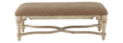 Traditional Upholstered Benches by Horchow