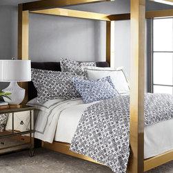Gilded Pressley King Bed -