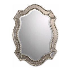 Uttermost - Traditional and Modern Inspired Uttermost Felicie Oval Gold Mirror Home Decor - Traditional and modern inspired uttermost Felicie oval gold mirror living dining and family room home accent decor