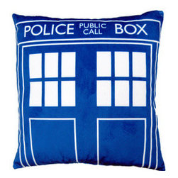 'Doctor Who' Tardis 16-Inch Pillow - This graphic pillow is a great nod to the TARDIS. Mix it in with your other pillows and see who notices.