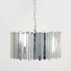 Faceted Mirrored Pendant - Clayton Gray Home -