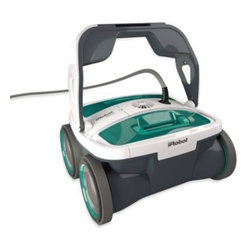 Irobot - iRobot  Mirra 530 Pool Cleaning Robot - Take the work of out of cleaning your pool with the iRobot Mirra 530. Designed to clean any type of residential in-ground pool, it uses enhanced robotic technology to deep clean pool surfaces and water, removing leaves, hair and dirt, as well as algae.