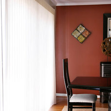 Transitional Vertical Blinds by Distinctive Remodeling Solutions, Inc