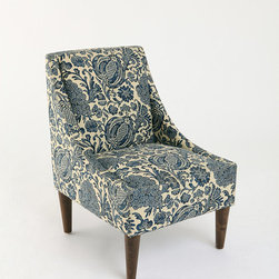 Slope Chair - Batik Ink - The fabric on this chair just jumped out at me-fun!