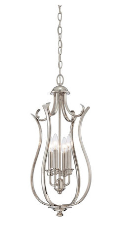 Savoy House Lighting - Savoy House Lighting 3-4502-4-109 Foyer Transitional Foyer Light - Savoy House Foyer lights will bring illumination to any entryway space with a timeless style that you will love for years to come. Choose from pewter, English bronze or polished nickel finishes.