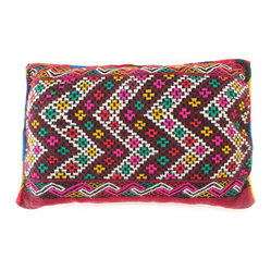 Zigzag Moroccan Pillow