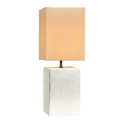 Natural Design House - Mini Metallic Lamp - For a bold and rich lighting accent that looks stunning with contemporary home decor, metallic table lamps are the perfect match, You'll feel like a million bucks with the Silver color lamps in your home, but the cost of this great style won't break your bank. Perfect for use as bedside lamps, these metallic lamps could essentially be used in just about every room in the home and office.