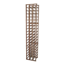 Vinotemp - 3-Column Wood Wine Rack - The Vinotemp 54-Bottle 3-Column Wood Wine Rack keeps your collection safely organized by individual bottles. Crafted from Premium redwood for an attractive look, it is ideal for starting or expanding any wine collection. Vinotemp uses untreated domestic wood and quality metal fastners to construct this rack. We never use glue to hold our racks together because it can weaken and deteriorate over time. Hand made in our Southern California factory, this rack can be made to order just for you.