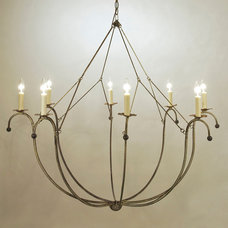 Eclectic Chandeliers by Cottage and Bungalow