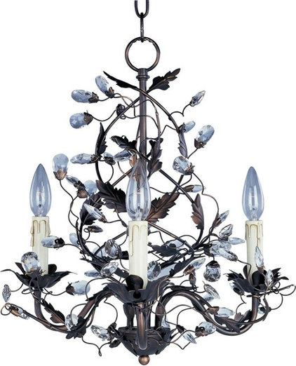 Eclectic Chandeliers by Lighting and Locks