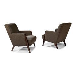 Thayer Coggin - Larsen Lounge Chairs from Thayer Coggin - Thayer Coggin Inc.