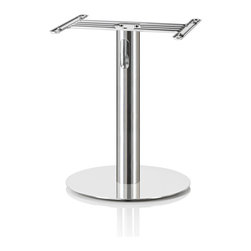 GenevaSound - Chromesheen Pedestal in Silver - Raise the roof — and your tunes — with this metal stand. Used with certain models of the All-In-One Hi-Fi stereo system, it supports the player, hides your cords and looks like a piece of modern sculpture for your room.