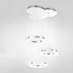 Modern C Model LED Crystal Pendant Lighting -