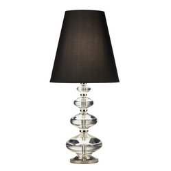 Robert Abbey Jonathan Adler Claridge Component Table Lamp with Black Shade