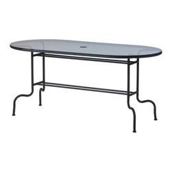 LÄCKÖ Table - Table, gray