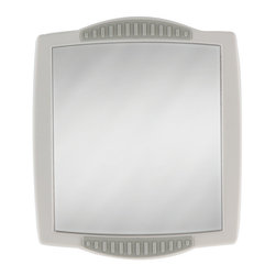 Zadro - Zadro Z'Fogless Shower Mirror In Gray-Z300 - Get a closer, smoother shave with the Z'fogless shower mirror.  It features a large, high quality, break resistant fogless mirror with a beautiful gray finish.