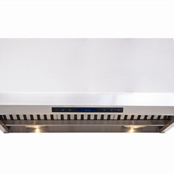 Cavaliere - Cavaliere AP238-PS85 Under Cabinet Range - Under Cabinet Range Hood with 4 Speeds, Timer, LCD Keypad Heat Lamps & Halogen Lights