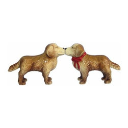 WL - 2.75 Inch Kitchenware Golden Retrievers Salt and Pepper Shakers - This gorgeous 2.75 Inch Kitchenware Golden Retrievers Salt and Pepper Shakers has the finest details and highest quality you will find anywhere! 2.75 Inch Kitchenware Golden Retrievers Salt and Pepper Shakers is truly remarkable.