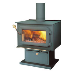 SBI-OSBURN/DROLET - Flame XTD 1.5 Medium Steel Woodburning Stove - • High efficiency stoves