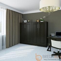 Horizontal Metropolitan  Murphy Bed by BredaBeds - Super space-efficient Horizontal Metropolitan Murphy Bed!