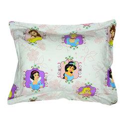 Franco Manufacturing Company INC - Disney Princesses Pillow Sham Princess Twist Bed Accessory - FEATURES: