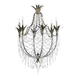 Cyan Design - Six Lamp Chandelier-6492-6-33 - Six lamp chandelier - st. regis bronze