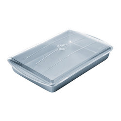 Chicago Metallic Betterbake Nonstick Make & Take Pan with Lid