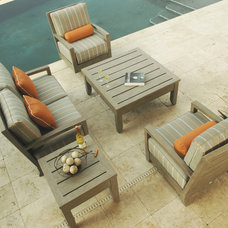 Traditional Patio by authenTEAK Outdoor Living