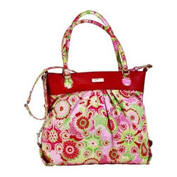 Hadaki Nylon Tote Around Pod - Jazz Ruby