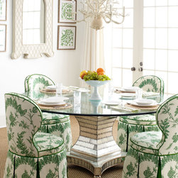"""Erlinda"" Dining Table & ""Garden"" Dining Chair -"