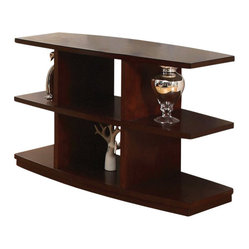 Steve Silver Citadel 50x20 Sofa Table in Cherry
