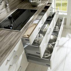 Nobilia - Kitchen Organization Boston Spaces -