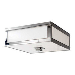 Hudson Valley Lighting - Hudson Valley Lighting 4216 Preston 3 Light Flushmount Ceiling Fixture - Hudson Valley Lighting 4216 Preston 3 Light Flushmount Ceiling FixtureContemporary squared, these ultra-cool flushmount ceiling fixtures from the Preston Collection are available in several sizes and finish options.Hudson Valley Lighting 4216 Features: