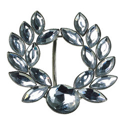 Silk Plants Direct - Silk Plants Direct Rhinestone Laurel Wreath Napkin Ring (Pack of 12) - Pack of 12. Silk Plants Direct specializes in manufacturing, design and supply of the most life-like, premium quality artificial plants, trees, flowers, arrangements, topiaries and containers for home, office and commercial use. Our Rhinestone Laurel Wreath Napkin Ring includes the following: