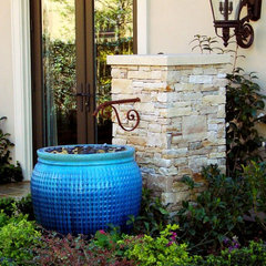 eclectic exterior by AMS Landscape Design Studios, Inc.