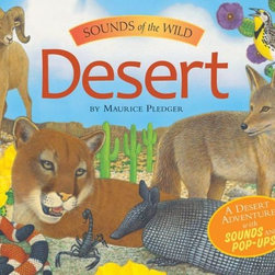 Sounds of the Wild: Desert by Maurice Pledger - Good for younger kids, this pop-up book is extra fun because it also has sounds. My kids like hearing the various animal sounds and looking at the fun pop-up pages. There are several other books in the series too, if you are looking for other habitat-themed books.