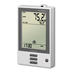 Warmup Dual Voltage Programmable Floor Heating Thermostat DUALUDG-4999 - 15A max / Class A / +41 to +104°F (+5 to +40°C) / 4-event program / 1.8x3x1 in (123x75x25mm)