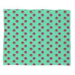 DENY Designs - Laura Redburn Circle Spot Dot Mint Fleece Throw Blanket - This DENY fleece throw blanket may be the softest blanket ever! And we're not being overly dramatic here. In addition to being incredibly snuggly with it's plush fleece material, it's maching washable with no image fading. Plus, it comes in three different sizes: 80x60 (big enough for two), 60x50 (the fan favorite) and the 40x30. With all of these great features, we've found the perfect fleece blanket and an original gift! Full color front with white back. Custom printed in the USA for every order.