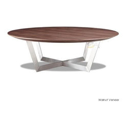 Dixon Coffee Table, Walnut Veneer