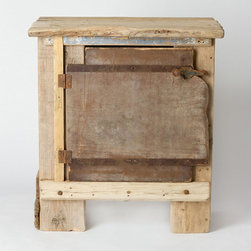 Driftwood Cabinet - Made from found driftwood, this little cabinet is ideal for a coastal or eclectic scheme. I'm in love with the texture it brings!
