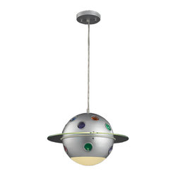 Elk Lighting - Elk Lighting-5096/1-Novelty - One Light Constellation Pendant - Gaze into your very own