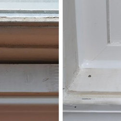 Replacement Vinyl Windows - When you replace your old windows with vinyl windows, you not only increase your energy efficiency, you also eliminate the risk of condensation & mold forming in your home.