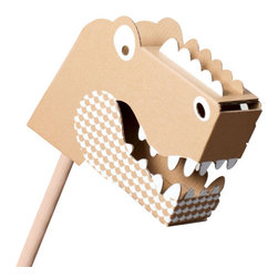 flatout frankie - Little Roar Head - This creative toy is ideal for your little builder. After assembling and decorating this playful head, watch your child's imagination run wild. This happy creature will quickly become a treasured friend.