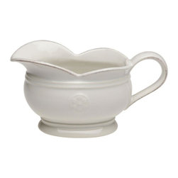 Casafina - Sauce Boat - The Meridian stoneware collection offers a wide variety of dinnerware items as well as serving pieces.