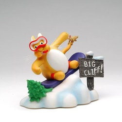 """ATD - 7.25"""" Multicolored """"Tom's Cats"""" Snowboarder Themed Decorative Figurine - This gorgeous 7.25"""" Multicolored """"Tom's Cats"""" Snowboarder Themed Decorative Figurine has the finest details and highest quality you will find anywhere! 7.25"""" Multicolored """"Tom's Cats"""" Snowboarder Themed Decorative Figurine is truly remarkable."""