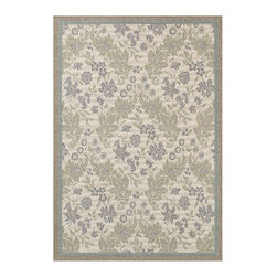 """Couristan - Monaco Palermo Rug 2481/3212 - 2' x 3'7"""" - Perfect for an outdoor patio, deck or sunroom, the Monaco Collection is designed to convert your space to the perfect at-home escape. Pair one of these performance area rugs with your outdoor furniture to enhance any look. The subtle designs and neutral hues found in Monaco are sure to bring a relaxed ambiance to any room or space of your liking."""