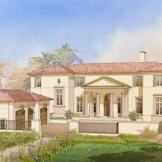 Traditional Rendering by Eric Watson Architect, P.A.