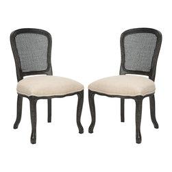 Safavieh - Safavieh MCR4541B-set2 Lucy Side Chair - Safavieh MCR4541B-set2 Lucy Side Chair